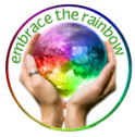 rainbow badge
